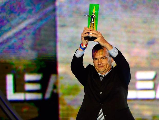 Craque do Brasileirão Leandro Vuaden (Foto: Marcos Ribolli / Globoesporte.com)