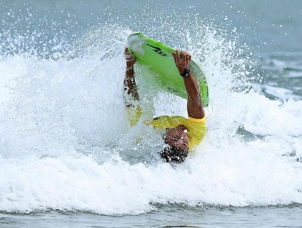 Bodyboard Francirley Ferreira nos Sul-Americanos de Praia (Foto: Wander Roberto / Inovafoto / COB)