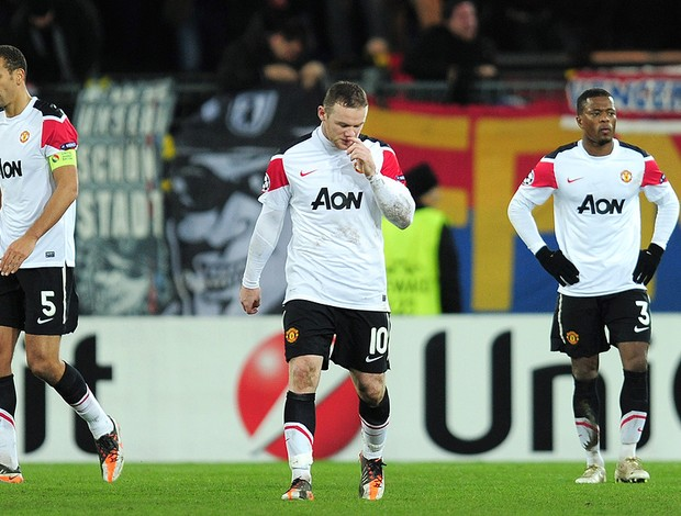 Rooney - Basel x Manchester United (Foto: Getty Images)