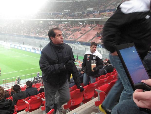 Muricy ramalho no estádio Toyota kashiwa reysol auckland (Foto: Thiago Dias / Globoesporte.com)