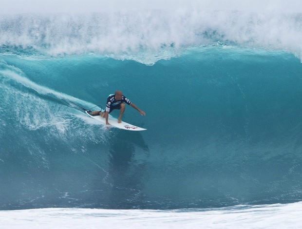 surfe Kelly Slater no Pipeline Masters (Foto: ASP)