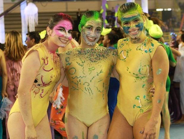 Bruna Leal, Daniel Hypolito e Jade Barbosa (Foto: Ricardo Bufolim/CBG/Photo&Grafia)