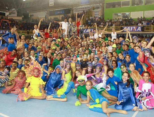 Ginástica de Gala (Foto: Ricardo Bufolim/CBG/Photo&Grafia)