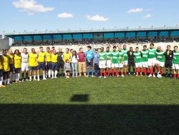 Dunga Danrlei jogo festivo em Porto Alegre Dunga Danrlei (Foto: Alexandre Alliatti/Globoesporte.com)