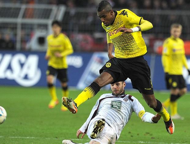 Felipe Santana, Borussia Dortmund x Kaiserslautern (Foto: AFP)