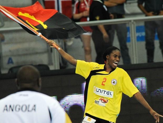 Mundial de handebol Angola Patricia Viegas (Foto: AFP)
