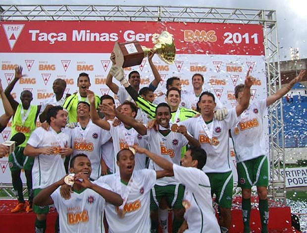 Ipatinga conquista a taça Minas Gerais (Foto: Reprodução)