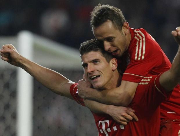 mario gomez Stuttgart x Bayern munique (Foto: Reuters)
