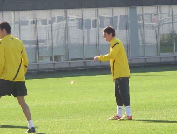 Lionel Messi treino Barcelona (Foto: Thiago Dias / Globoesporte.com)