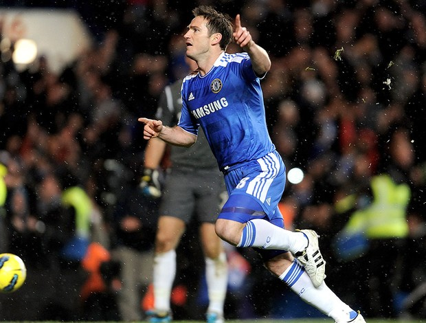 Lampard na partida do Chelsea (Foto: Getty Images)