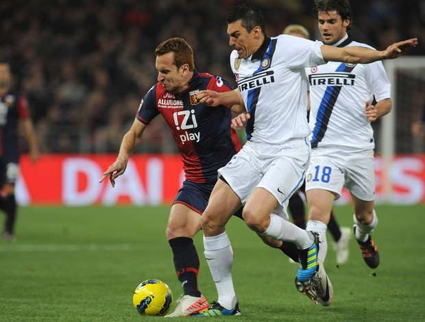lucio zé love internazionale x genoa (Foto: Getty Images)