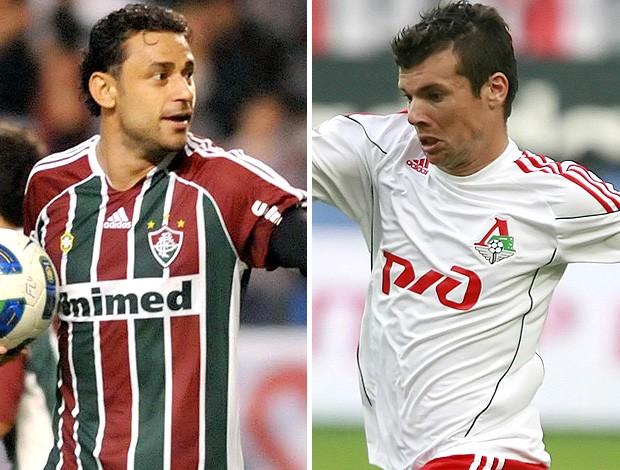 Fred e Wagner, do Fluminense (Foto: Photocamera/Getty Images)
