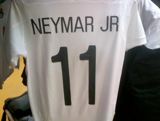 Neymar Jr camisa (Foto: Twitter / Divulgação)