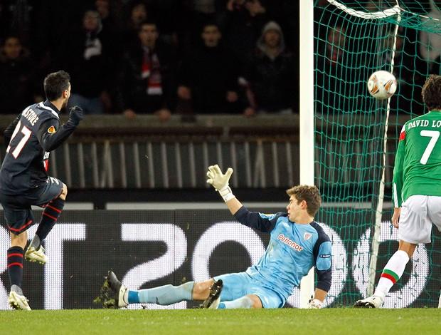 Pastore, PSG x Athletic Bilbao (Foto: Reuters)