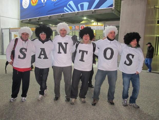 Torcida do Santos (Foto: Adilson Barros / Globoesporte.com)