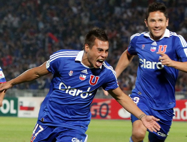 vargas universidad do chile x ldu (Foto: EFE)