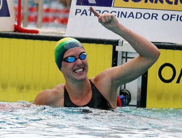 Graciele Herrmann natação (Foto: Ricardo Brandão/AGIF)