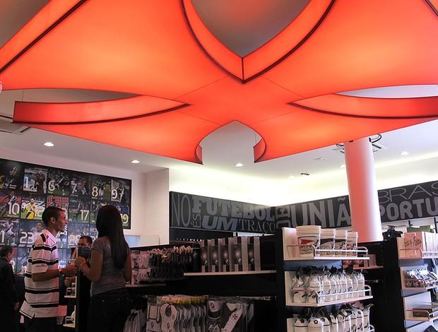 inauguração da nova loja do Vasco (Foto: Divulgação)