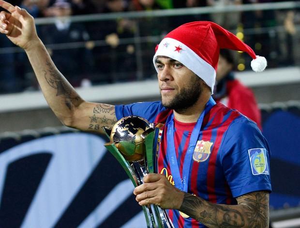 Daniel Alves barcelona taça mundial de clubes (Foto: Agência Reuters)