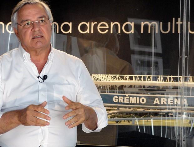 Paulo Odone, presidente do Grêmio (Foto: Eduardo Cecconi/Porto Alegre)