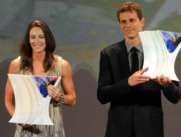 Fabiana Murer cesar cielo Prêmio Brasil Olímpico (Foto: André Durão/Globoesporte.com)