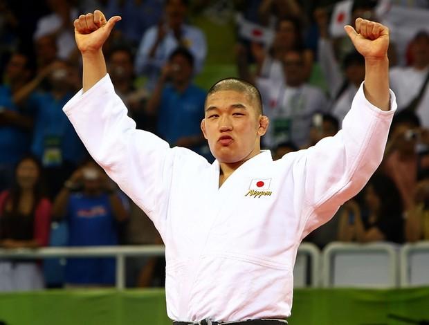 Satoshi Ishii pequim 2008 (Foto: Getty Images)