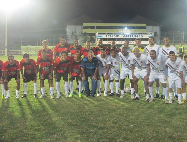 time posado pelada final de ano (Foto: Richard Souza/Globoesporte.com)
