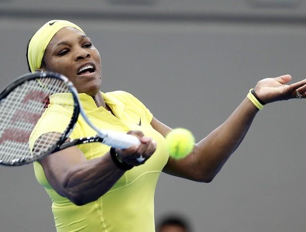 Serena estreia com vitória fácil em rodada sem zebras em Brisbane