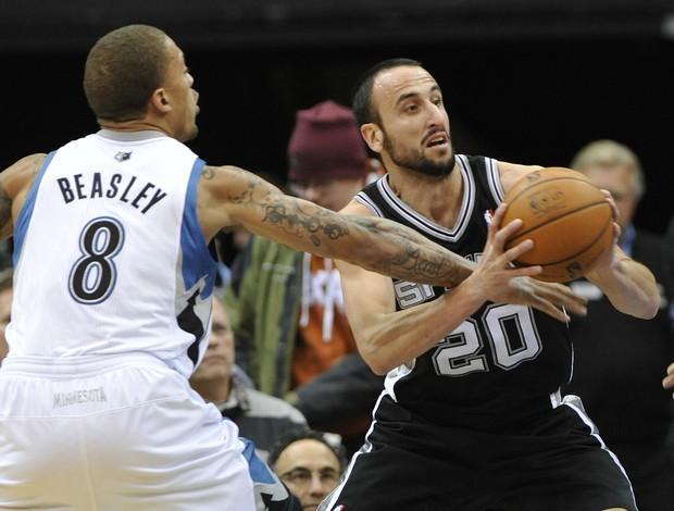 Manu Ginóbili, San Antonio Spurs (Foto: AP)