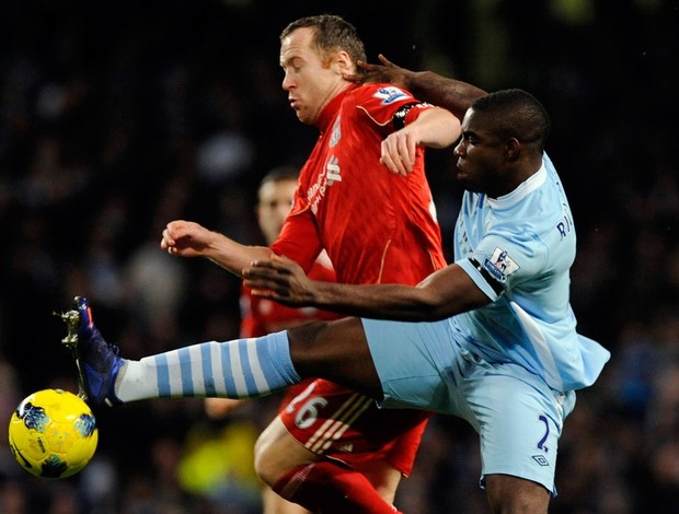 richards adams Manchester City x liverpool (Foto: Reuters)
