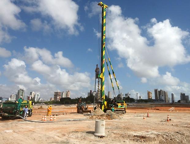 arena das dunas governadora Rosalba Ciarlini obras (Foto: Divulgação)