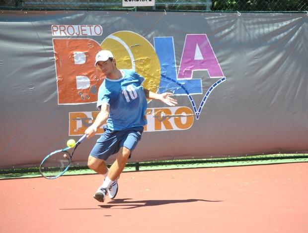 Gastão Elias português tenista (Foto: João Gabriel Rodrigues / Globoesporte.com)