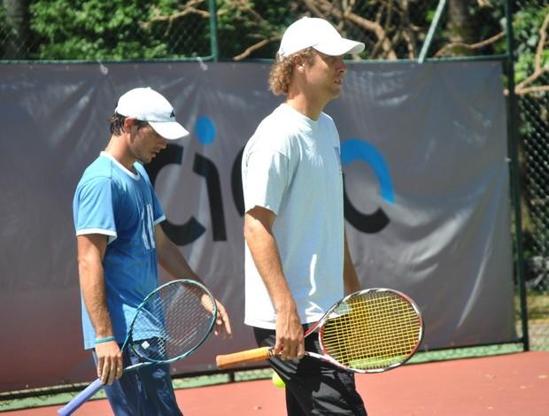 Gastão Elias português tenista Jaime Oncins (Foto: João Gabriel Rodrigues / Globoesporte.com)