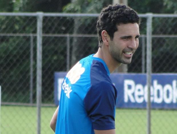 Leandro Guerreiro Cruzeiro (Foto: Fernando Martins/Globoesporte.com)