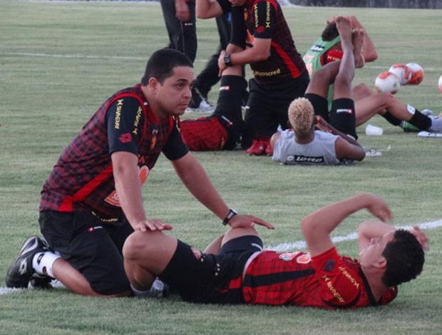 Roberson - Sport (Foto: Lula Moraes/GloboEsporte.com)