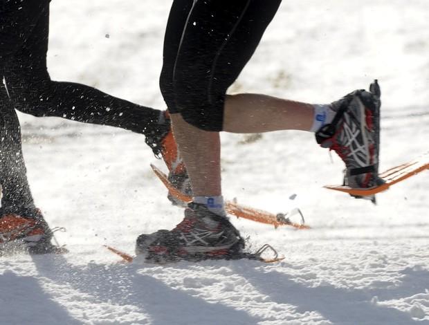 Corrida 6km na neve (Foto: Getty Images)