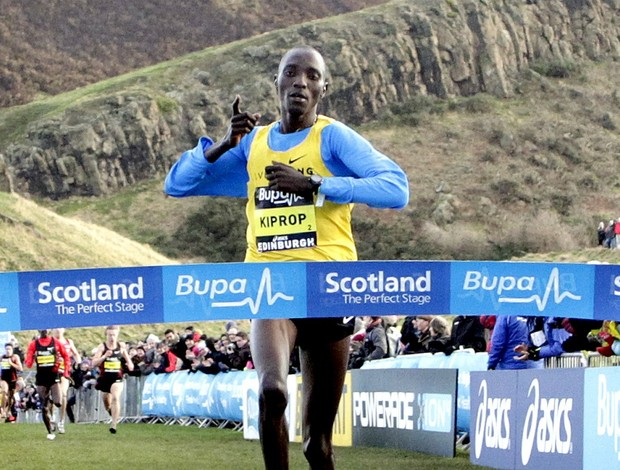 Corrida Cross Coutry Kiprop (Foto: AFP)