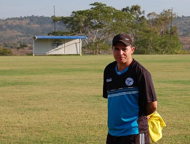 Laelson Lima, técnico do Porto-PE (Foto: Tiago Medeiros / GloboEsporte.com)