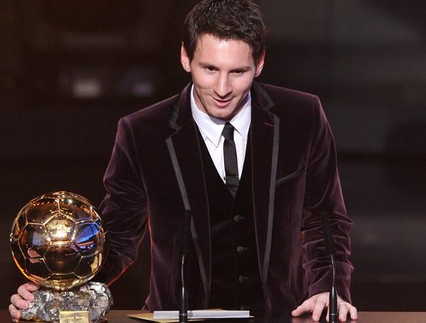 Messi bola de ouro FIFA (Foto: AFP)