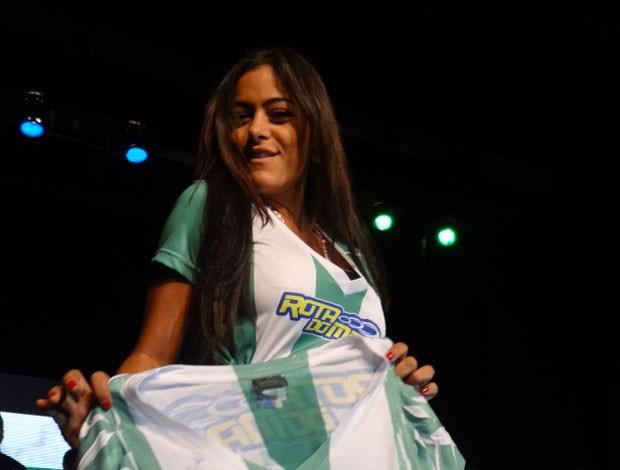 Larissa Riquelme - América-PE (Foto: Lula Moraes/GloboEsporte.com)