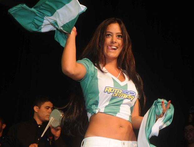 Larissa Riquelme - América-PE (Foto: Aldo Carneiro)