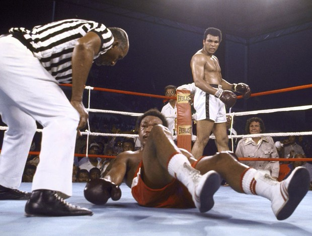 ali foreman boxe (Foto: Getty Images)