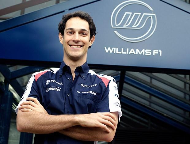 Bruno Senna acerta com a Williams na F1 (Foto: Divulgação)