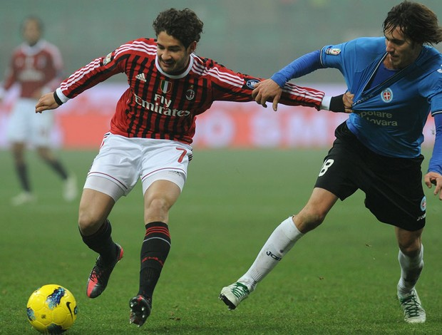 Pato, Milan x Novara (Foto: Getty Images)