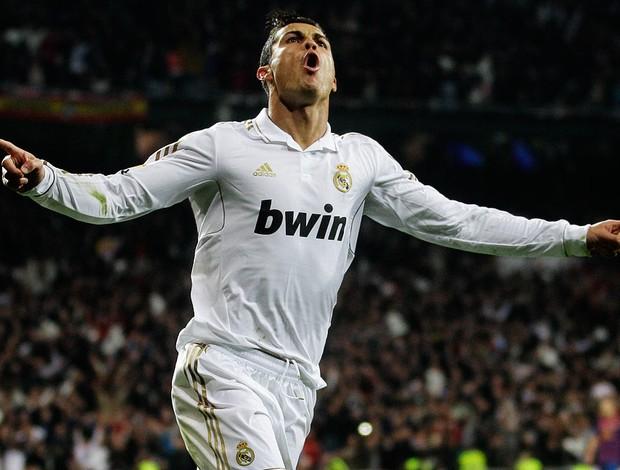 cristiano ronaldo gol real madrid x barcelona (Foto: AP)