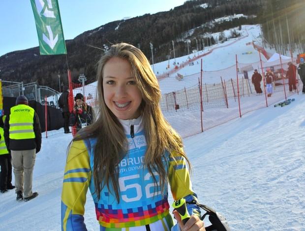 Eliza Nobre Innsbruck Áustria Jogos Olímpicos da Juventude de Inverno 2012 (Foto: Divulgação/CBDN)