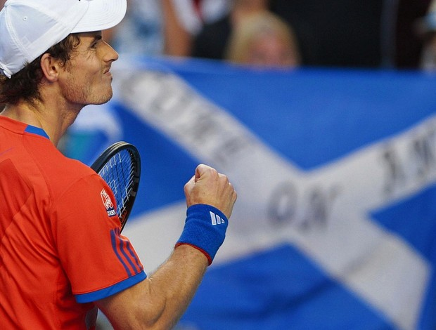 Andy Murray tênis Australian Open 2r (Foto: Reuters)