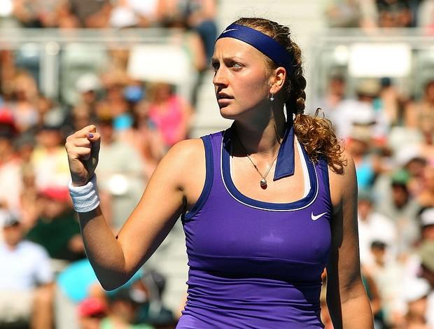 Petra Kvitova tênis Australian Open 2r (Foto: Getty Images)