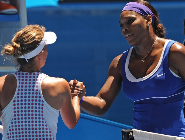 Serena Williams tênis Australian Open 2r (Foto: AP)