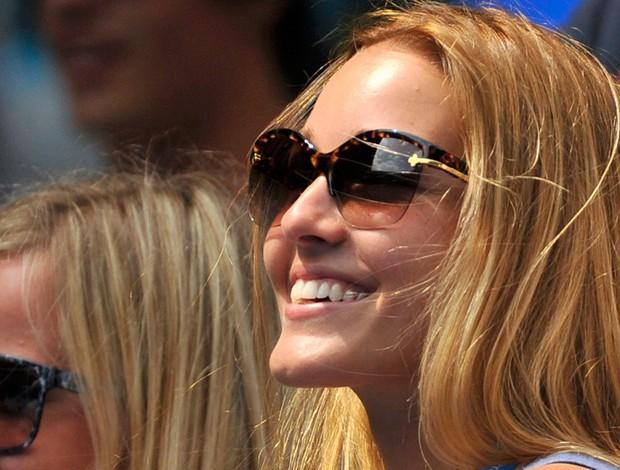 Jelena Ristic tênis Djokovic Australian Open 3r gata (Foto: Reuters)